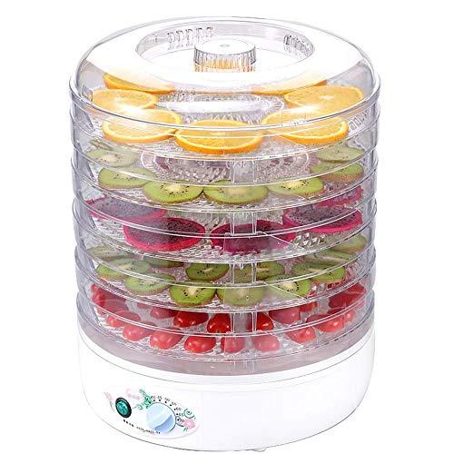 Best Buy! HIZLJJ Electric Countertop Food Dehydrator Machine - Professional Multi-Tier Food Preserve...