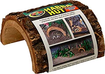 Zoo Med Habba Hut for Terrariums [Set of 2] Size  Large  7  L x 6.5  W x 3.5 H