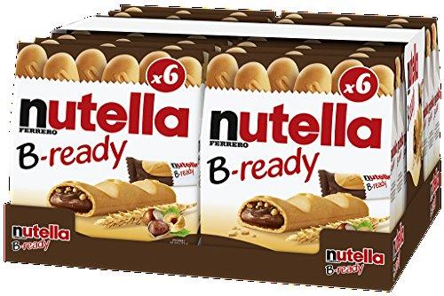 Nutella B-ready deutsche Version mit 22g Riegel, 16er Pack (16 x 132g Multipack)