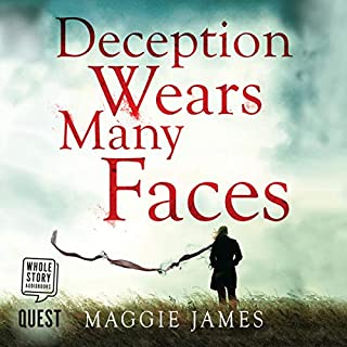 Deception Wears Many Faces audiobook cover art