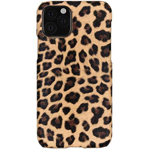hHülle kompatibel mit iPhone 11 Pro Hülle – Leopard, Wildkatze, Tiermuster – Hard Hülle Handyhülle