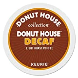 Donut House Collection, Decaf, Single-Serve Keurig K-Cup Pods, Light Roast Coffee, 96 Count (4 Boxes...