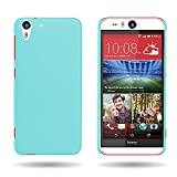 HTC Desire Eye Case (Sky Blue) CoverON 1pc Slim Protective Hard Rubberized Phone Cover for HTC Desire Eye
