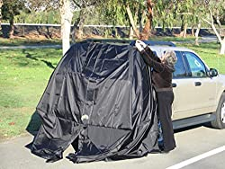 SUV Tent Add-A-Cabana Black Campervan awning tents VanSage