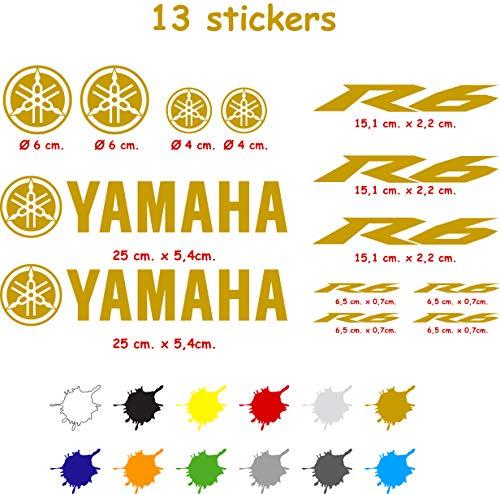 yamaha r6 aufkleber