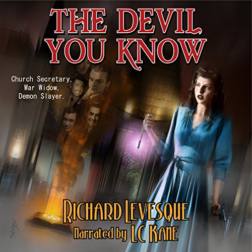 The Devil You Know audiobook cover art