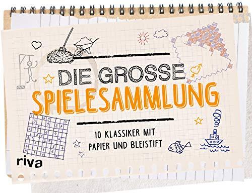 Die große Spielesammlung: 20 Klassiker mit Papier und Bleistift