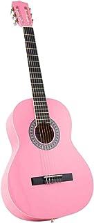 جيتار كلاسيكو من فيتنس اللون الزهري درجه اللون زهري