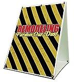 Remodeling Pardon Our Dust Sidewalk A Frame 18'x24' Outdoor Vinyl Retail Sign
