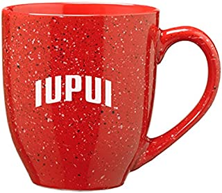 LXG, Inc. Indiana University – Purdue University Indianapolis - 16-Ounce Ceramic Coffee Mug - Red