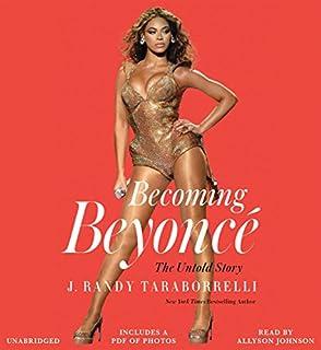 Becoming Beyoncé audiobook cover art