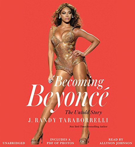 Becoming Beyoncé audiobook cover art