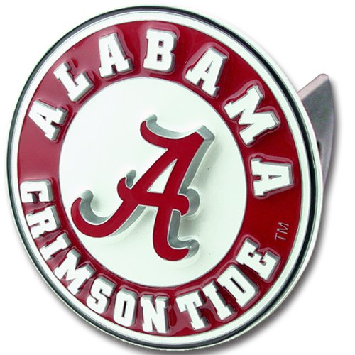 Siskiyou CTH13S Alabama Crimson Tide College Trailer Hitch Cover Red, 12.5