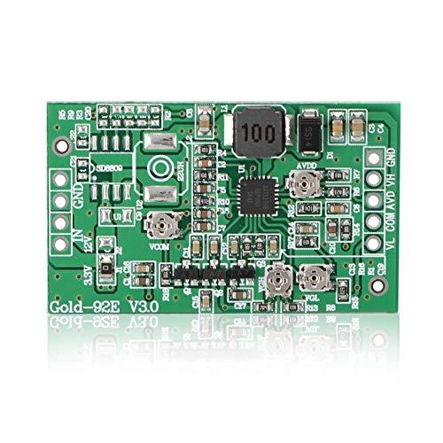 Oumij Instelbare Step Up Boost Converter Module, 3-5V - VCOM, AVDD, VGH, VGL vier kanalen - Boost Board Module - 4-kanaals module, voor LCD-scherm TCON-Platine