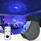 Mksutary LED Star Light Projector,Starry Sky Projection Lamp with Remote Control,6 Colors Changing/27 Modes Galaxy Night Light Projector, Adjustable Brightness/Direction for Kids, Adults, Holidays