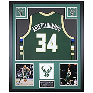 Giannis Antetokounmpo Autographed Milwaukee Bucks Jersey