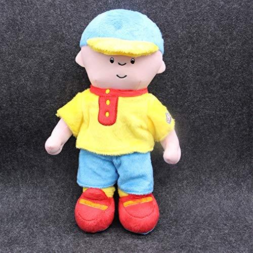 Ysguangs Juguete de Peluche Personaje de Dibujos Animados caalau Peluche bebé Juguetes muñecas (Color : Caillou, Height : 28 30cm)