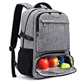 CoolBELL Lunch Backpack 15.6 Inches Laptop...