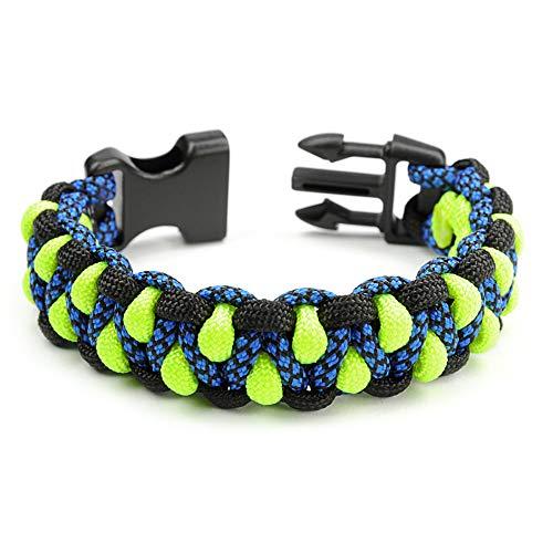 Paracord 550 Bracelet pour Homme et Femme Motif Dragon de Survie Taille XL
