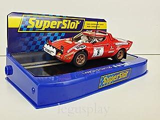 Slot Car Scalextric Superslot H3930 Compatible Lancia Stratos Course Rally 1975 B.Daniche