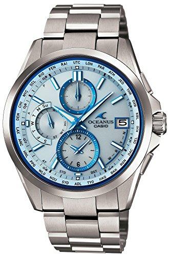 [カシオ] 腕時計 オシアナス クラシックライン 電波ソーラー OCW-T2600-2AJF シルバー