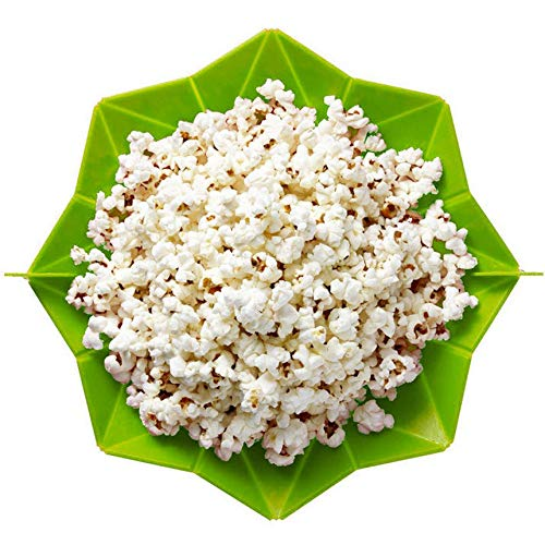Silicona Microondas palomitas de maíz palomitas de maíz hechas en casa deliciosas palomitas de maíz cuenco para hornear herramientas de cocina Bakingwares bricolaje Cubo de silicona fabricante de las
