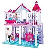Steffi Love Dreamhouse / Großes Spielhaus / 4 Räume / OHNE PUPPEN / 84cm hoch / Zwei Etagen /...