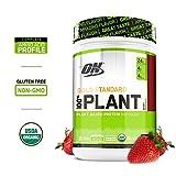 OPTIMUM NUTRITION GOLD STANDARD 100% Organic Plant Based Vegan Protein Powder, Berry, 1.51 Pound