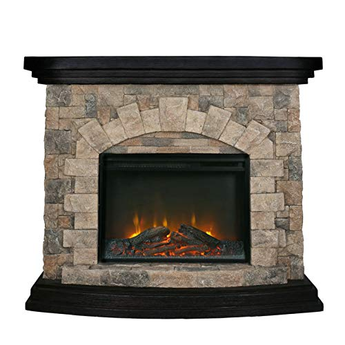 Shoukong Upland Electric Fireplace Stove...