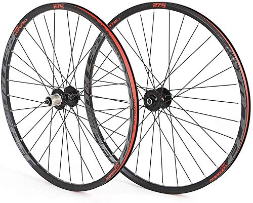 L.BAN Rueda de Bicicleta de montaña Anillo de Bicicleta de Cuatro Ejes de aleación de Aluminio Juego de Ruedas de montaña Redondas de 32 Orificios 29 Pulgadas con Reflectante (con liberación r