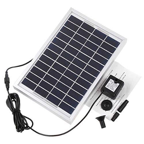 Fuente solar dividida tipo 2.5W/5W estanque oxígeno purificador motor de chorro de agua