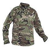 Valken Tactical Tango Combat Shirt, Woodland, Large