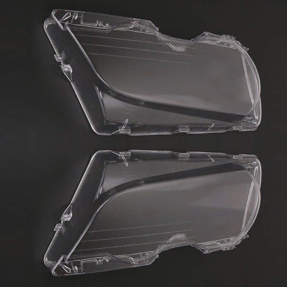 Sinistra Copriobiettivo Trasparente Coperchio Laterale Lente Obiettivo Lente per Proiettore Frontale Ricambio per BMW E46 2DR M3 325Ci 01-06 Base Coupe 2 Door 1999-03 KKmoon Copertura del Faro Auto