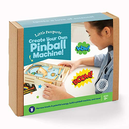 Little Passports Create Your Own Pinball Machine | Ages 9+
