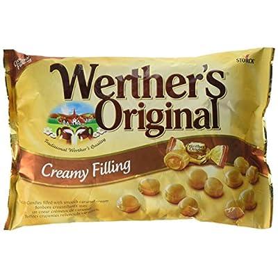 werthers original creamy filling candies 1 kg, 161-pieces Werthers Original Creamy Filling Candies 1 kg, 161-Pieces 512dziScFsL