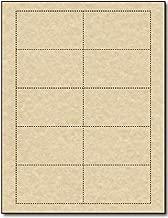 Best parchment business cards Reviews