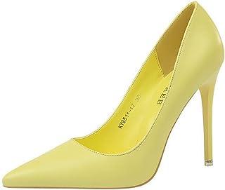 BalaMasa Womens APL11926 Pu Heels