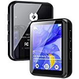 Jolike Bluetooth5.0 MP3プレーヤー 16GB内蔵 128GBまで拡張可能 フルタッチスクリーン スピーカー内臓 1.8インチ 合金製 超小型軽量 ポータブルオーディオプレーヤー FMラジオ多機能音楽プレーヤーM5