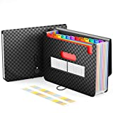 ActFaith Expanding File Folder A4 Accordion Wallet Folder with 13 Pockets File Organiser P...