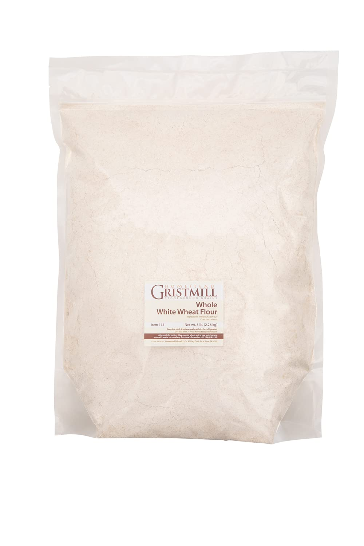 Homestead Gristmill Stone Ground Whole White Wheat Flour - Non-G