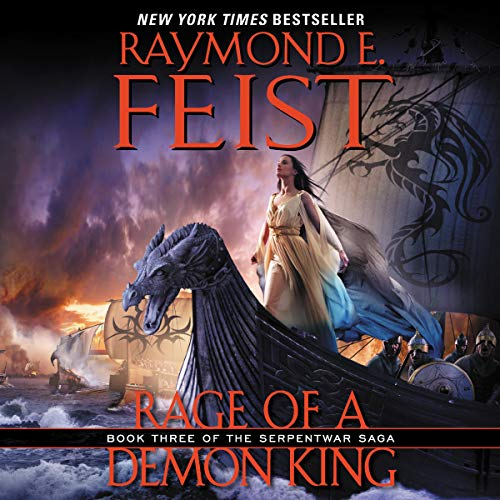Rage of a Demon King audiobook cover art