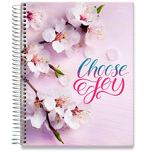 Tools4Wisdom Hardcover Planner 2021-2022 • April 2021 to June 2022 Calendar - 8.5 x 11 Full-Color Daily Academic Planner - Vertical Weekly Planner Layout - Q2S15 - Choose Joy Planner Cover
