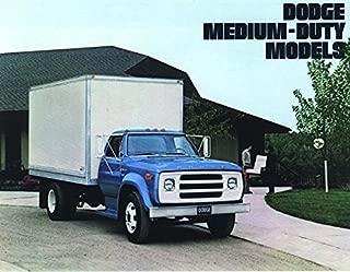 ORIGINAL 1975 DODGE MEDIUM-DUTY TRUCK SALES BROCHURE