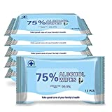 Owhy Brand Alcohol Detergent Wet Wipes, 100pcs 75% Alcohol Wet Wipes Suitable for All-Purpose...