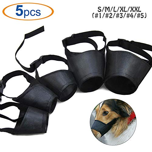 HS 1SET Dog Muzzles Suit