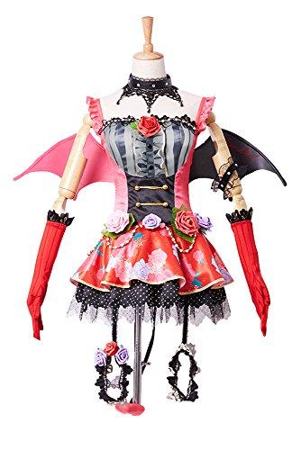 Love Live! New SR Maki Nishikino Little Demon - Uniforme transformado para Halloween, cosplay, talla XL