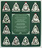 Cathedral Art 12 Days of Christmas Ornament Set, One Size, Multi