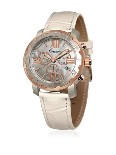 Carrera 88300 - Reloj de Señora Movimiento de Cuarzo con Correa de Piel Nácar
