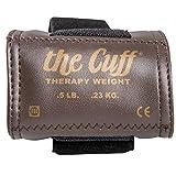 Gewichtsmanschette, Cando® Hand- und Fußgelenkgewichte, 227 g, walnuss