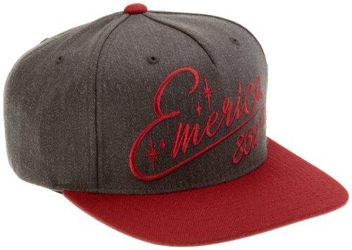 Emerica Herren Cap TEAM EMERICA STARTER, charcoal, One size, 6140000895